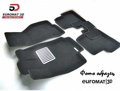 Текстильные 3D коврики Euromat3D Lux в салон для Acura RDX (2014-) № EM3D-000004